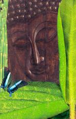 "Buddha IV - 5"" x 7"""