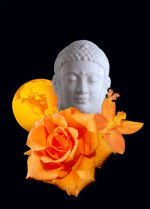 "Buddha VII - 5"" x 7"""